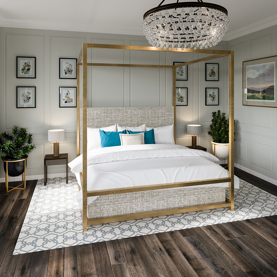 Explore the honeymoon suite at Syrencot at our Grand Opening event